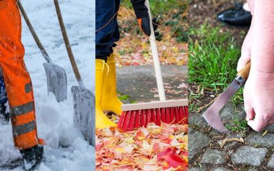 La propreté des rues et trottoirs