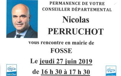 Permanence Conseiller départemental