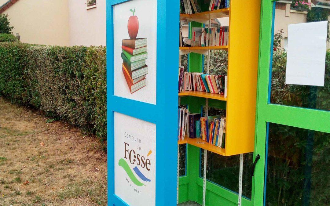 Le bibliophone est ouvert!!