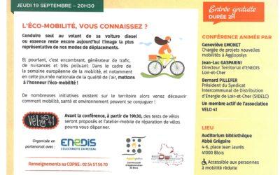Conférence Eco-mobilité
