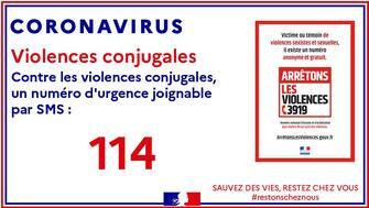 COVID19 : Confinement et femmes victimes de violences conjugales