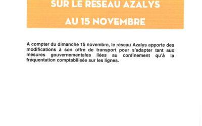 Azalys, point de situation covid -19