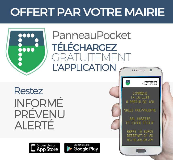 Application Panneau Pocket