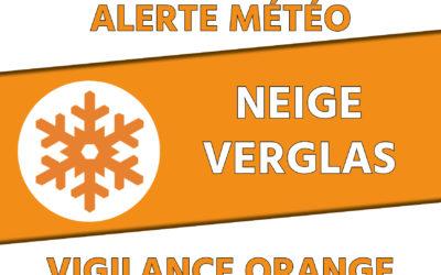 Vigilance Orange Météo