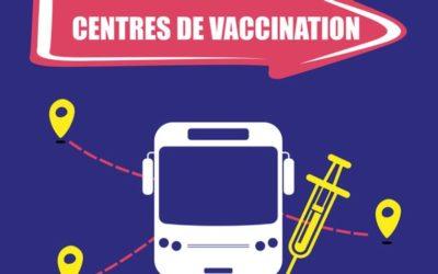 Transport pour se rendre au centre de vaccinations